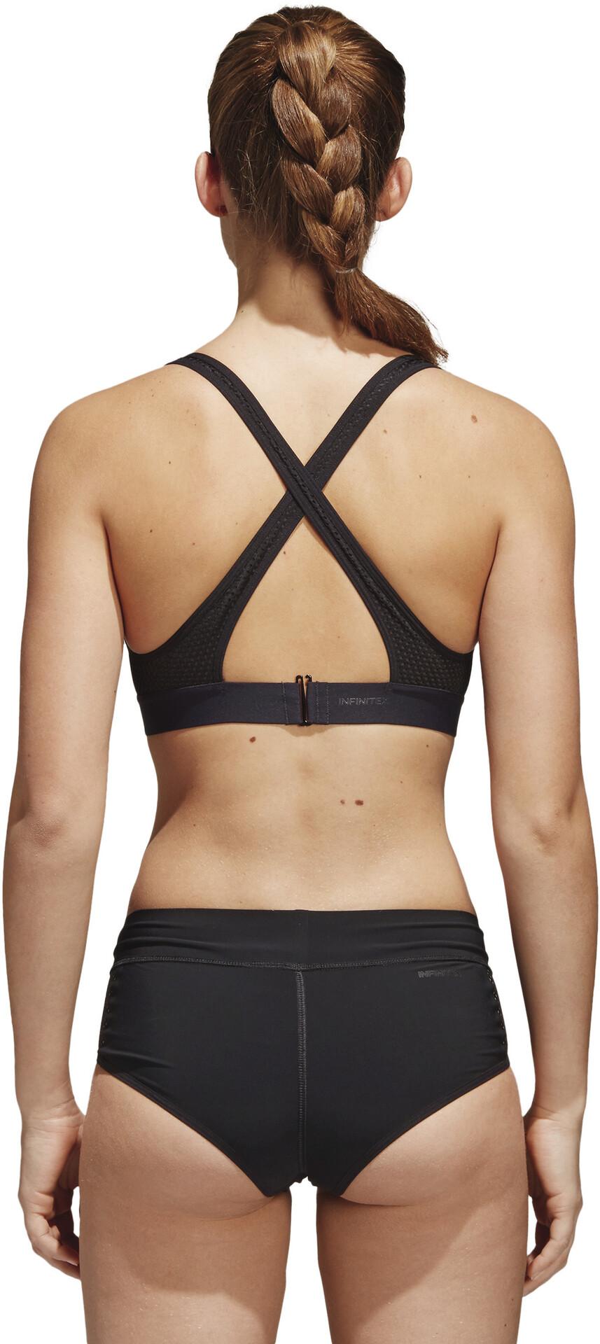 adidas Amphi Stronger For It Bikini Top Dames, black